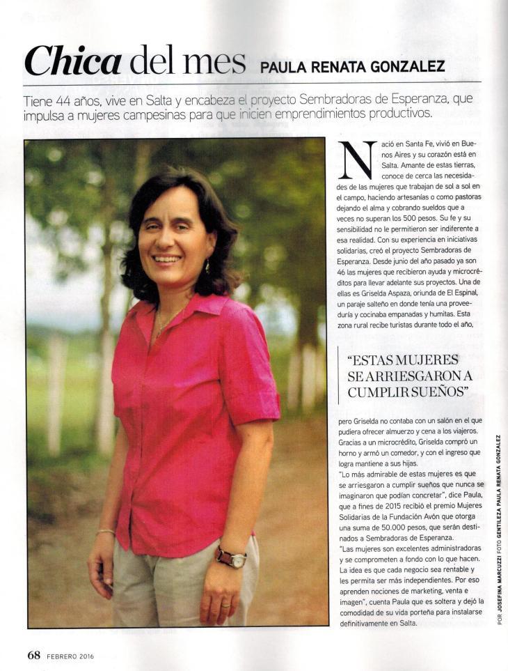 Nota Revista Susana